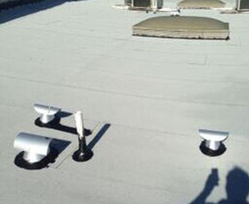 Flat Roof Maintenance Replacement